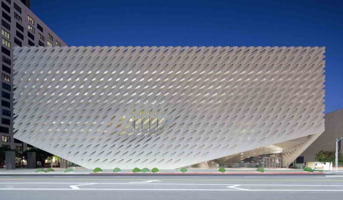 The Broad Museum en Los Angeles