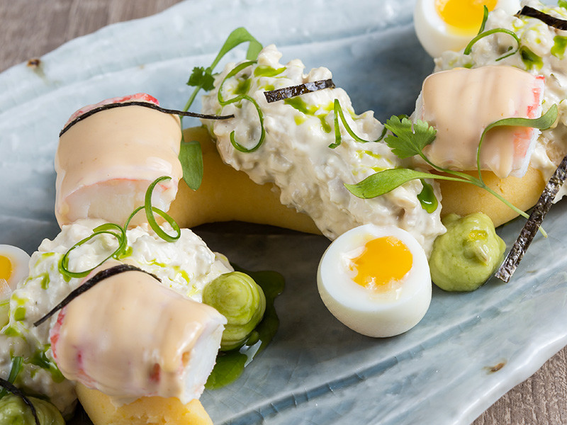 King-Crab-and-poached-chiken-causa-1111-peruvian-bistro