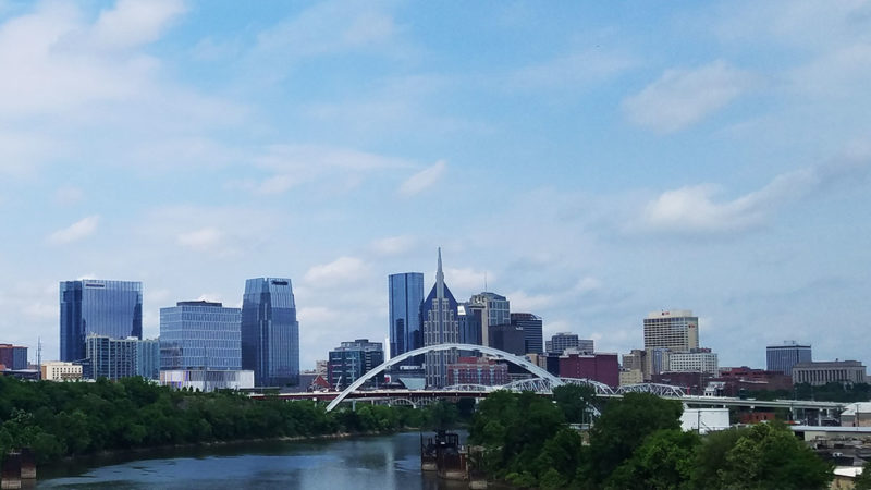 Nashville-skyline-Tennessee
