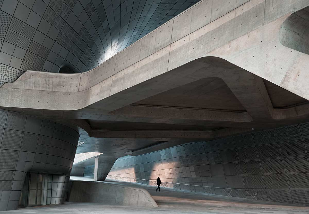 Dongdaemun Design Plaza, Corea, Seúl, Seoul ®Virgil Simon Bertrand