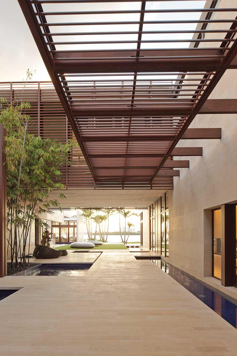 Indian Creek Island House, Rene Gonzalez, Miami Beach