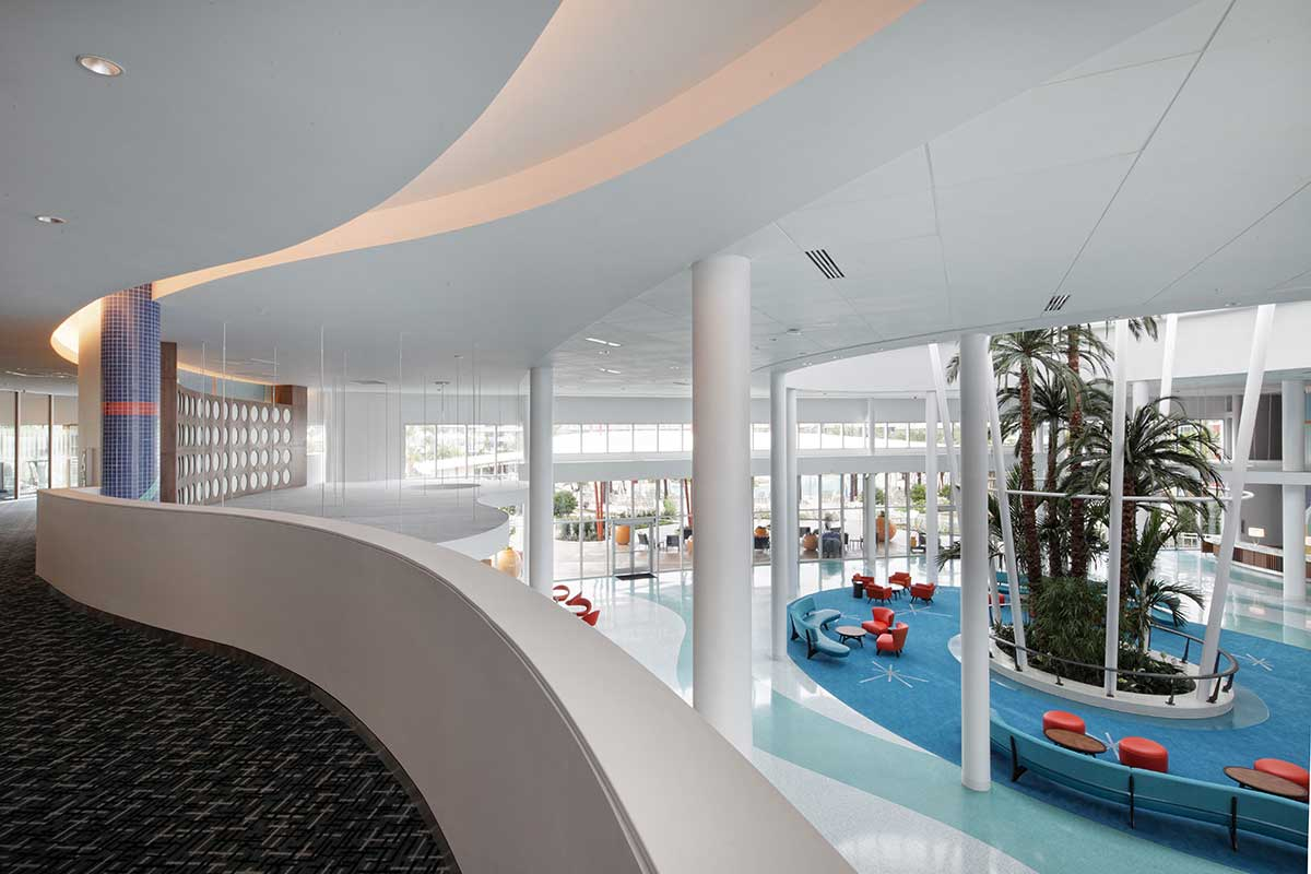 Cabana Bay Beach Resort Orlando lobby