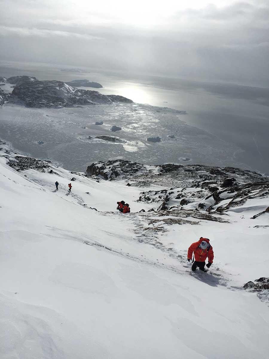 proyecto cumbre, groenlandia