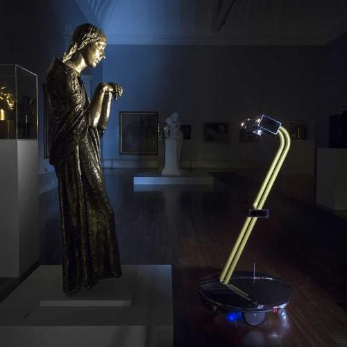 Arte y robots, 5 máquinas que sueñan ser Leonardo Da Vinci