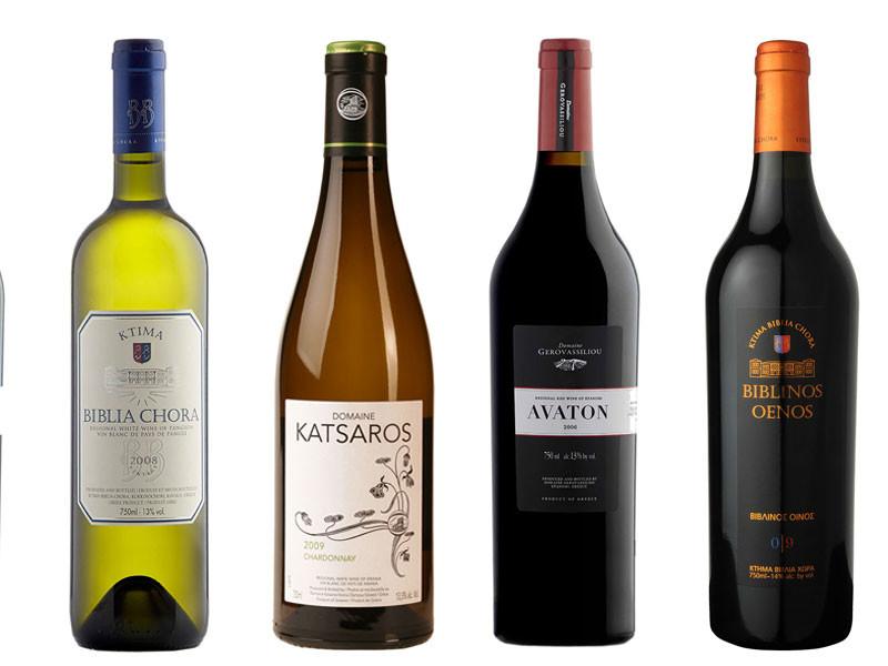 vinos spiliadis, Biblia Chora Biblinos Oenos, Gerovassiliou Avaton, Katsaros Chardonnay, Biblia Chora Estate White