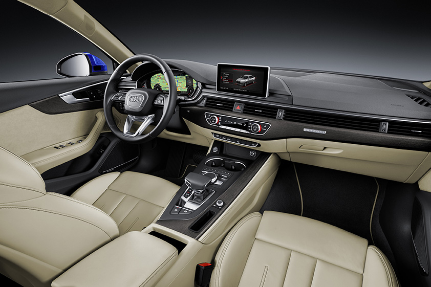 Audi-A4-2016-interior