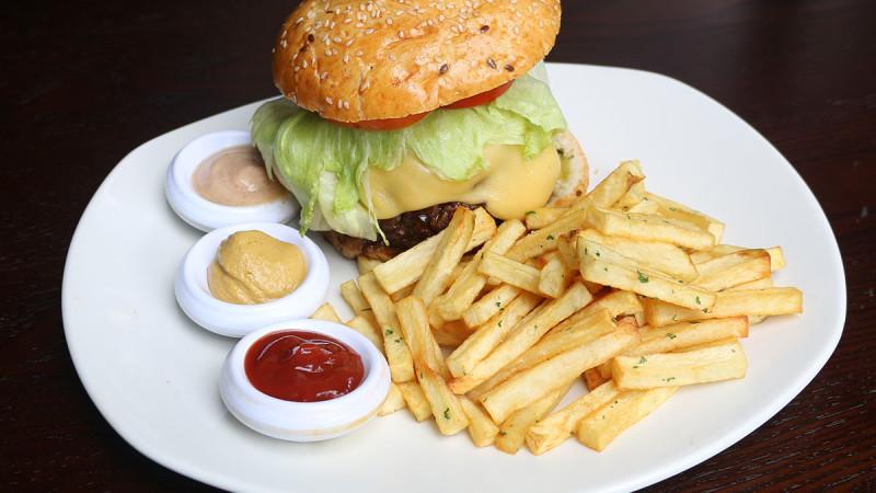 hamburguesa, doc restaurant