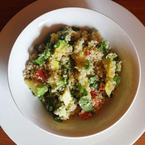Plato vegetariano del día: Ensalada de quinoa COMPLOT