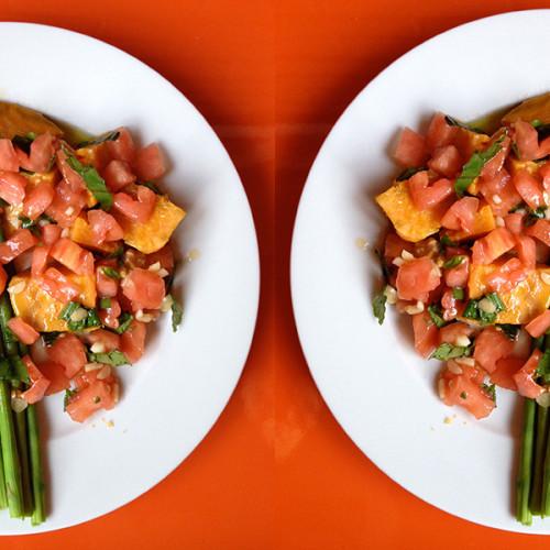Plato vegetariano del día: Falsos gnocchis de batata