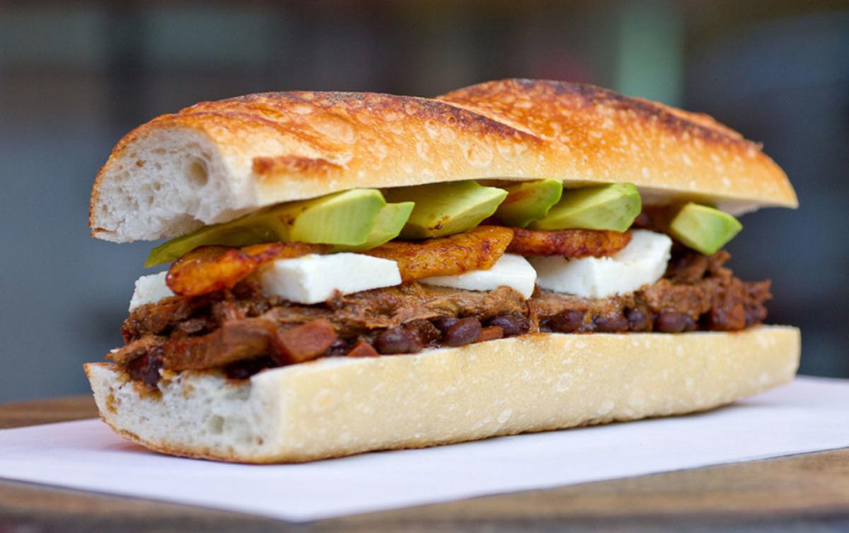 sandwich de pabellon
