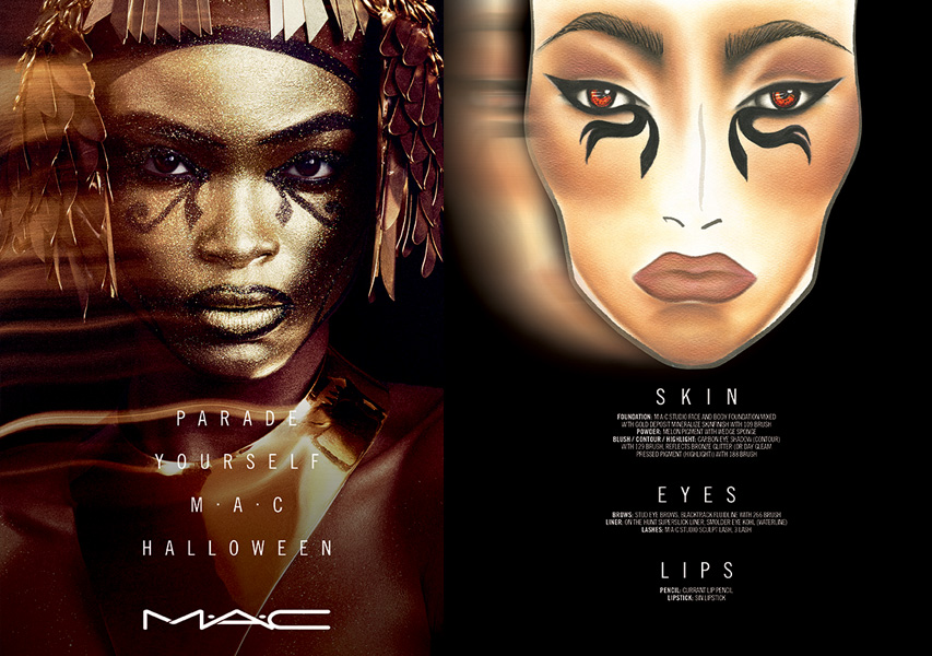 Maquillaje de Reina-Egipcia-por-Schuron-Womack