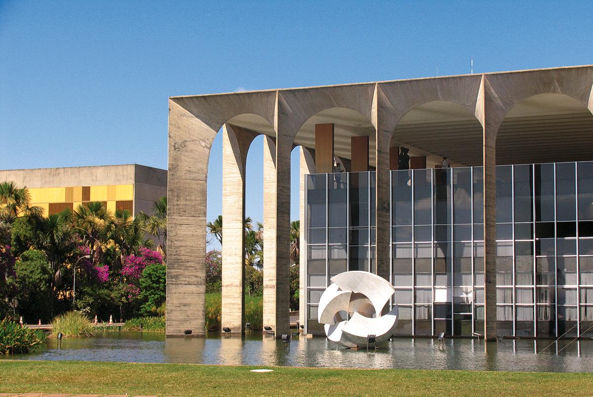 brasilia-Palacio de Itamaraty