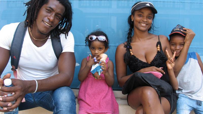 Gente en La Habana