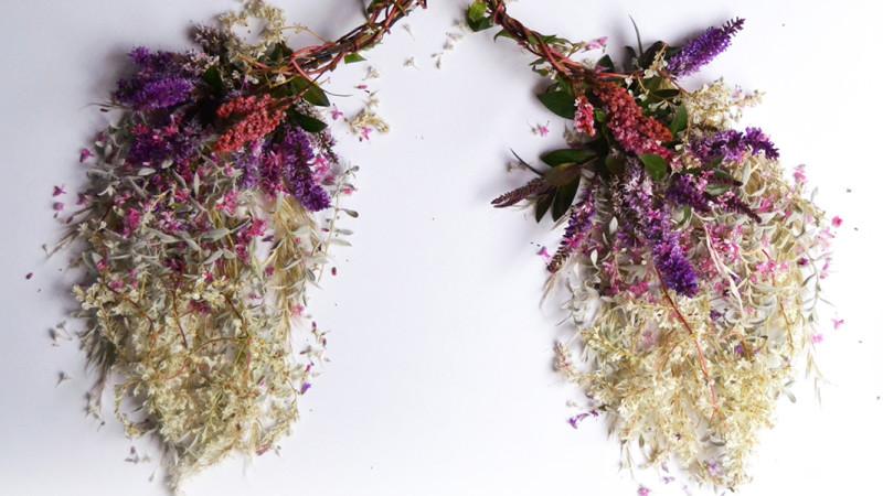 Poumons Fleurs Camila Carlow