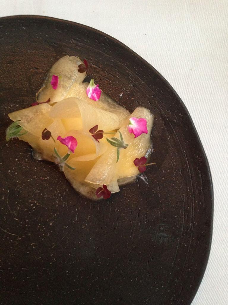 almejas-con-pepino-y-melón-restaurant-central