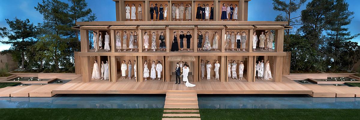 Chanel Haute Couture 2016 y su gran casa de muñecas