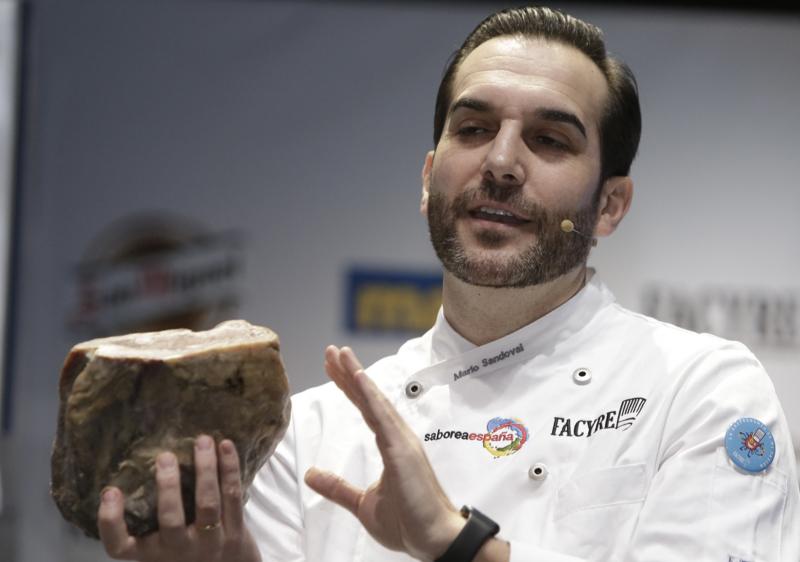 Chef Mario Sandoval en Madrid Fusion