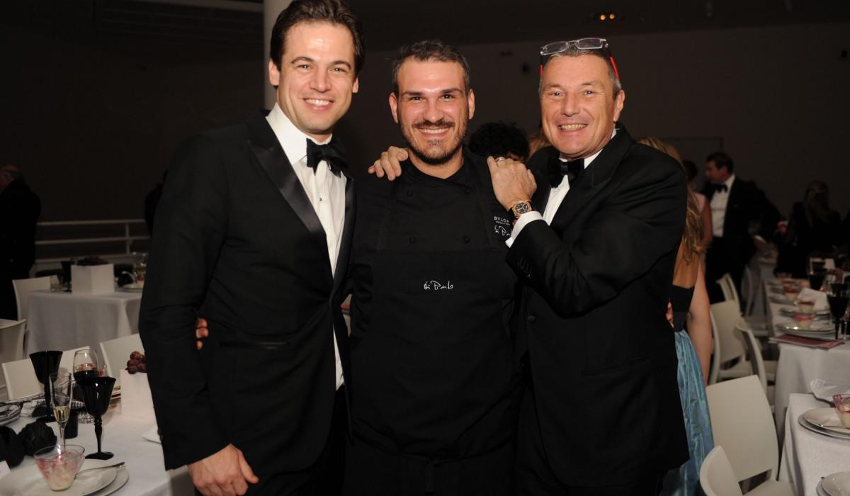 Daniel Paltridge, Chef Roberto Di Pinto y Jean Christophe Babin