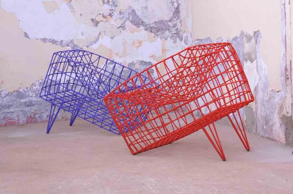 Los muebles del diseñador Cheik Diallo