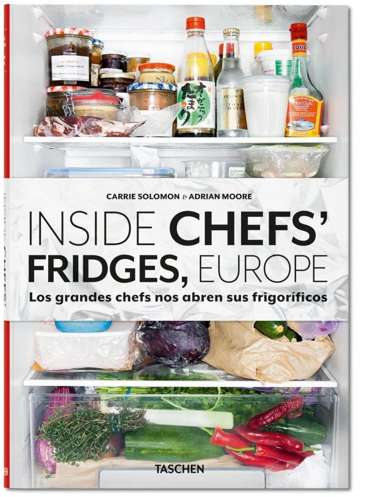 Inside Chef's Fridges Book Cover by Taschen