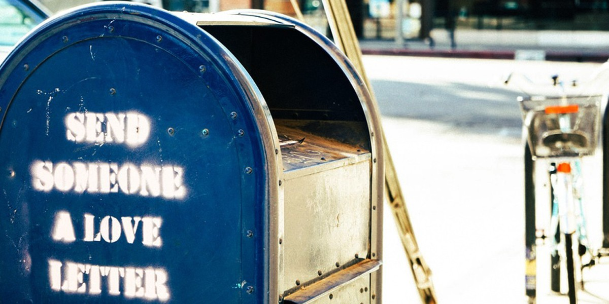 letter royalty free picture