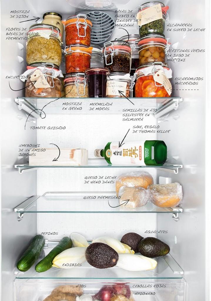 Inside Chef's Fridges / Chef Bo Bech / Imagen Taschen