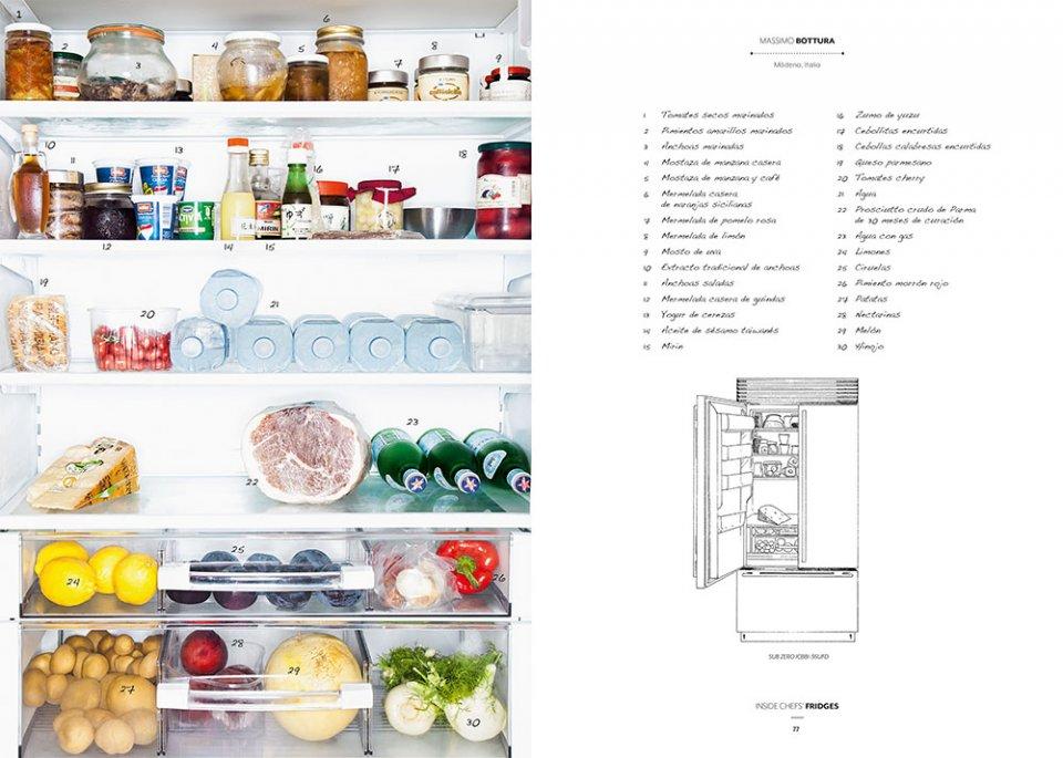 Inside Chef's Fridges / Chef Massimo Bottura / Imagen Taschen