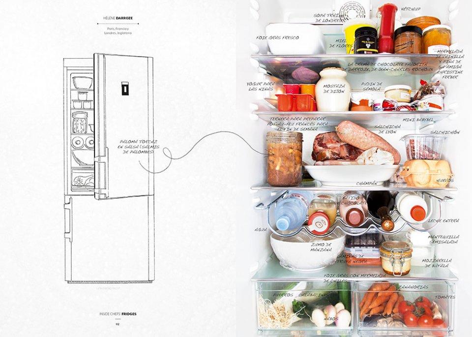 Inside Chef's Fridges / Chef Héléne Darroze / Imagen Taschen