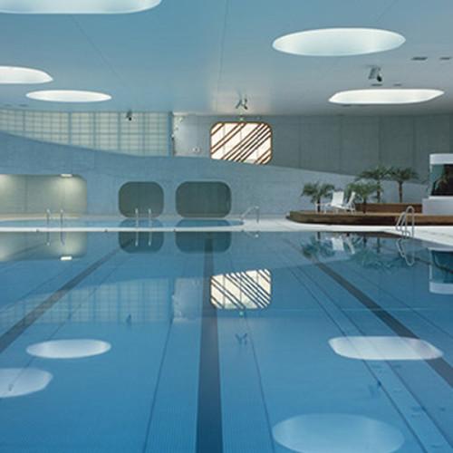 Feng Shui para una piscina pública en Francia
