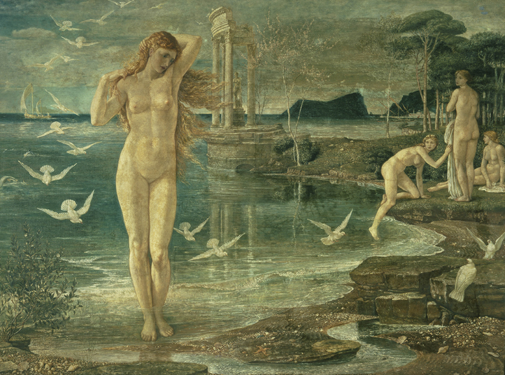 The Renaissance of Venus, 1877 by Walter Crane