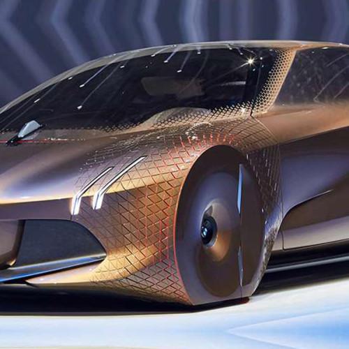 El nuevo carro del futuro de la BMW: VISION NEXT 100