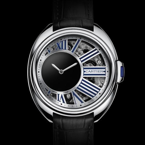 El fantástico reloj Clé de Cartier Horas Misteriosas
