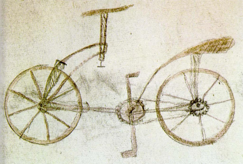 la bicicleta de leonardo da vinci