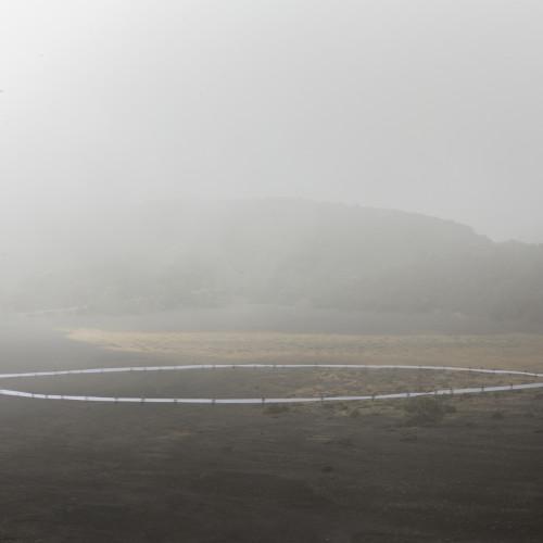 Miguel Braceli, interviniendo el volcán Irazú en Costa Rica