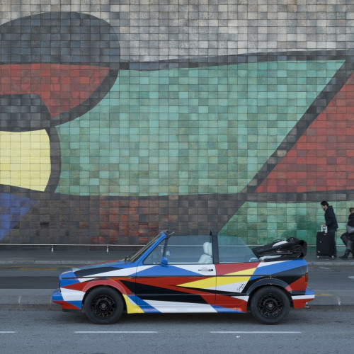 La propuesta para la industria automotriz del artista Jaime Gili