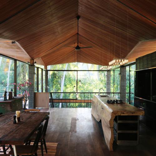 La Casa Origami en Bali diseñada por Alexis Dornier