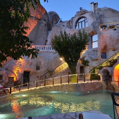 Hotel Gamirasu, un refugio de lujo en las entrañas de Capadocia
