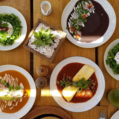 Restaurante Cinco en Playa del Carmen, cocina moderna con acento mexicano