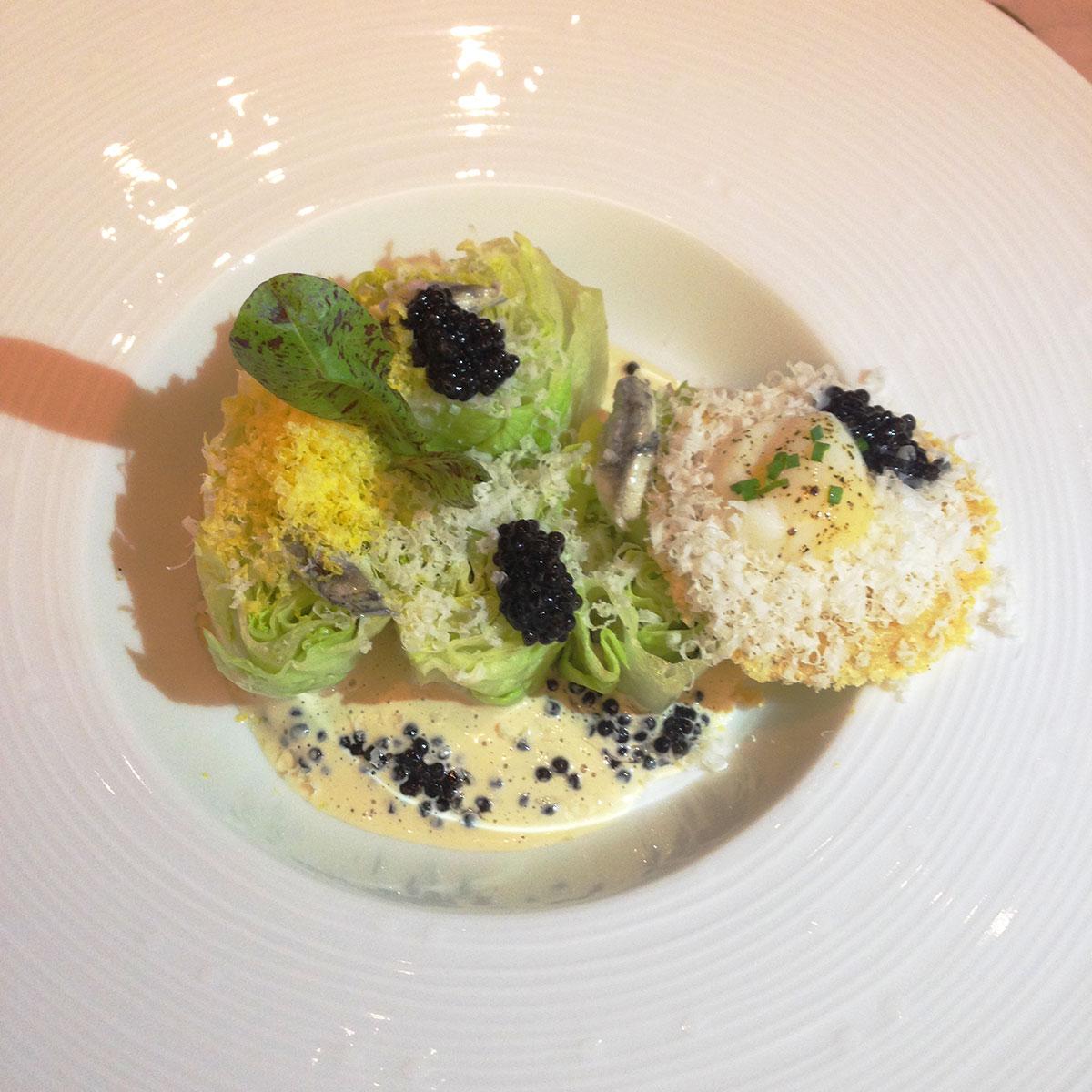 Caviar-Russe-Miami-cesar-salad