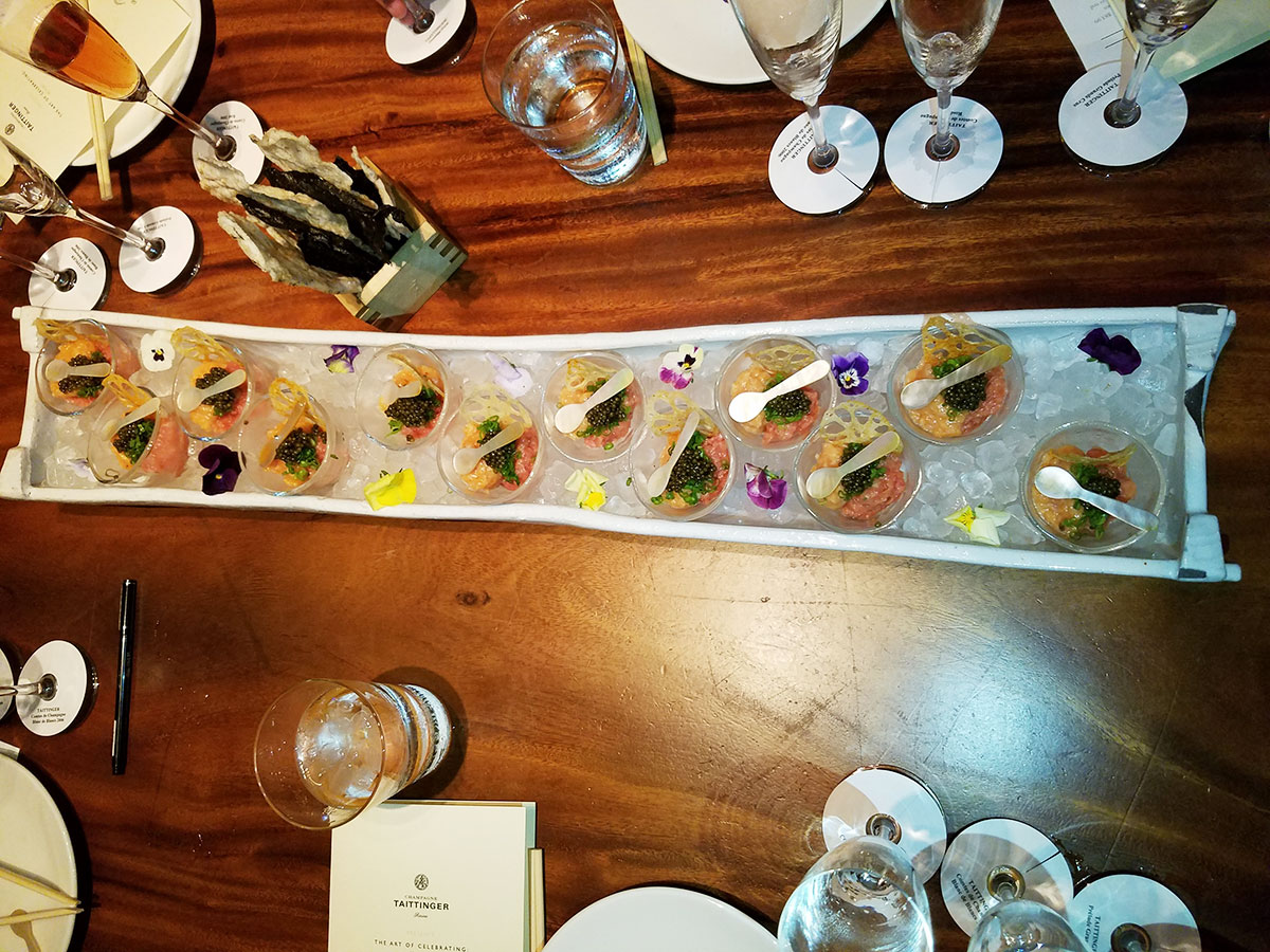 champagne-taittinger-caviar
