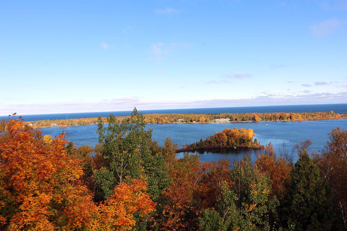 Door-County-Green-Bay-view