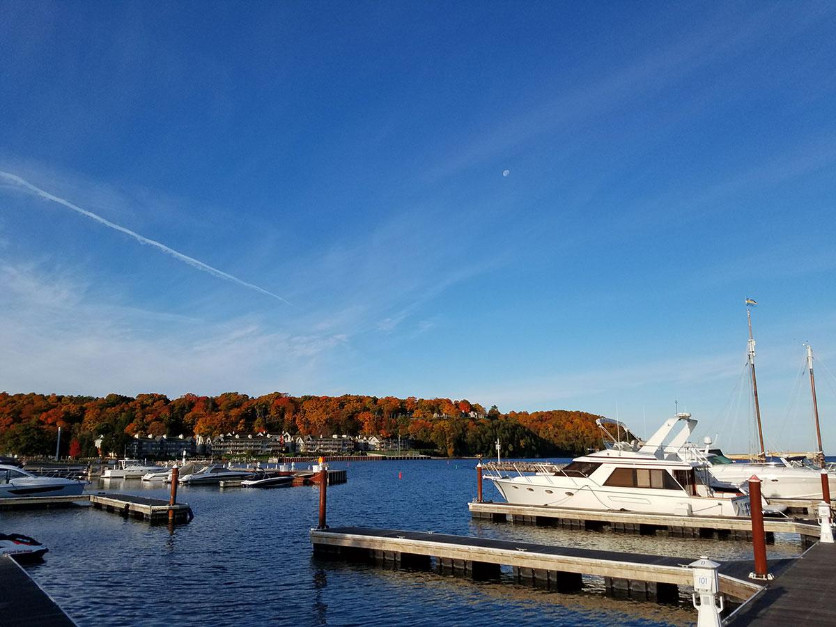 Door-County-boats-on-Sister-bay