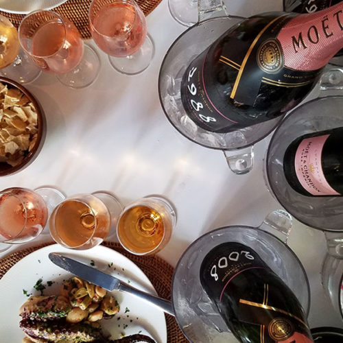 Has probado los champagne rosé de Moet & Chandon?