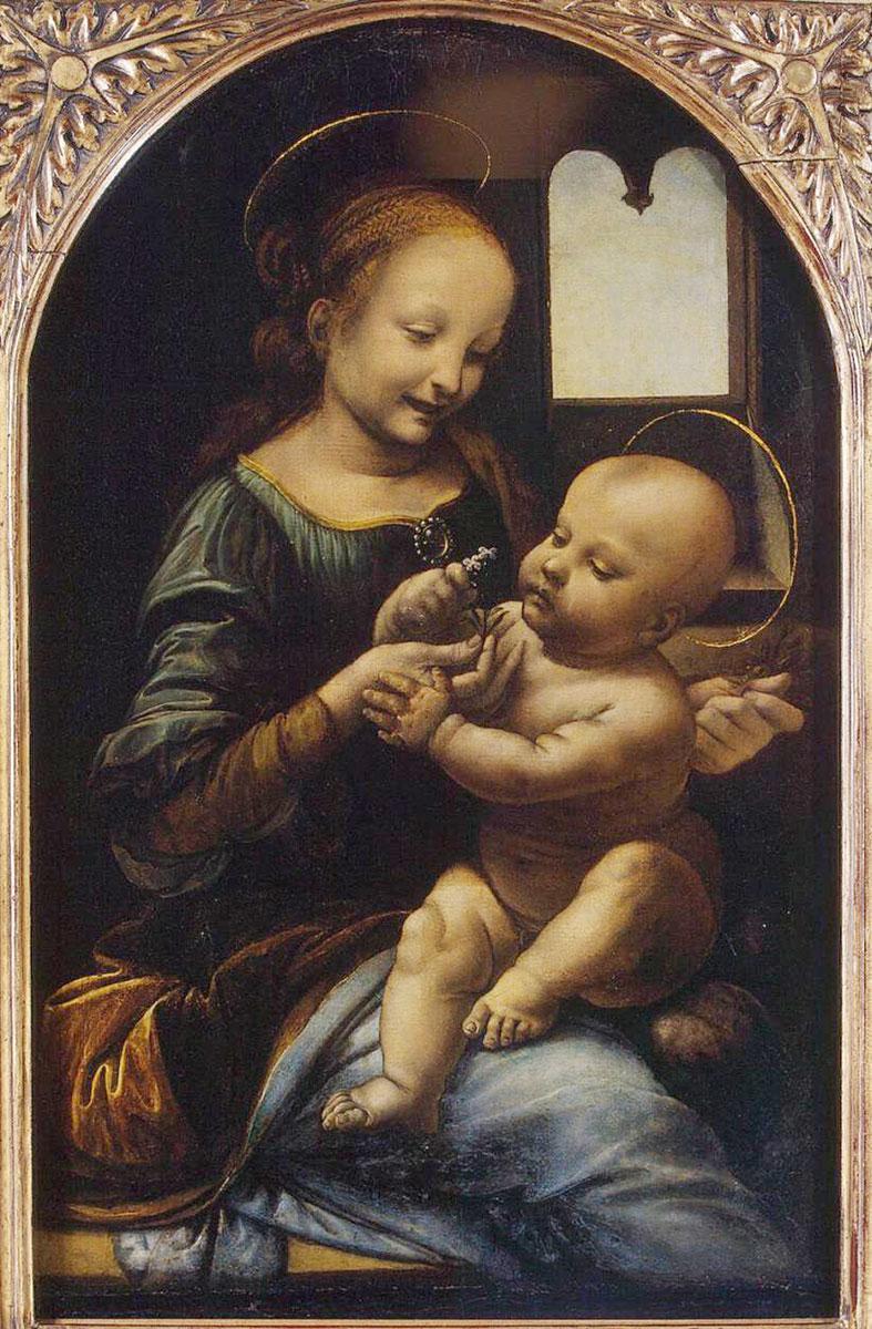 Leonardo_Da-Vinci_Madonna_benois