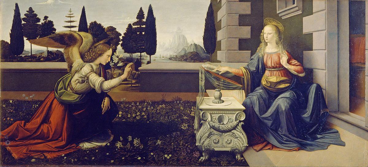 Leonardo_da_Vinci_Annunciazione