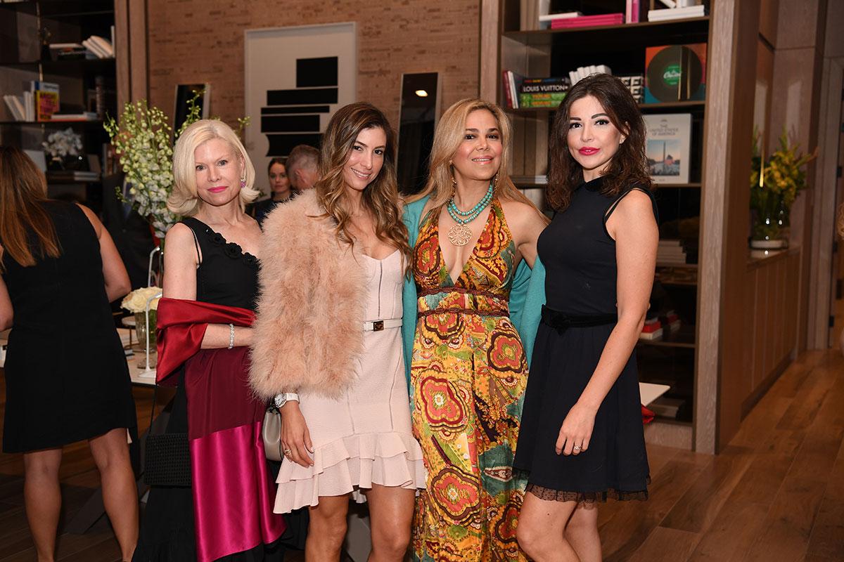 DeGrisogono-Daoro-dinner-Christine-Hilliard,-Isabelelena-Octavio,-Esther-Porto-&-Natalia-Parker