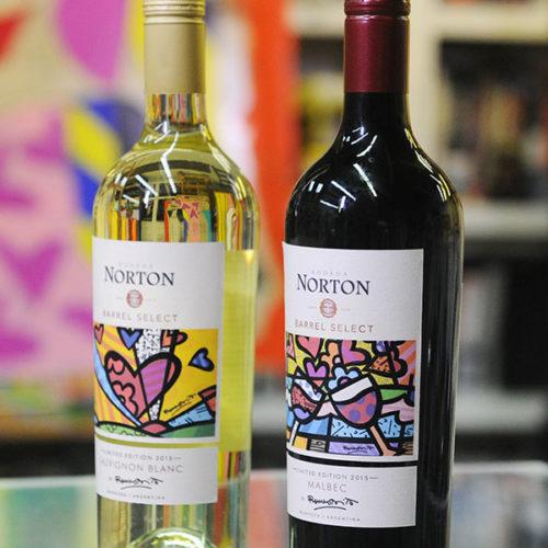 Bodega Norton y Romero Britto juntos en edición limitada