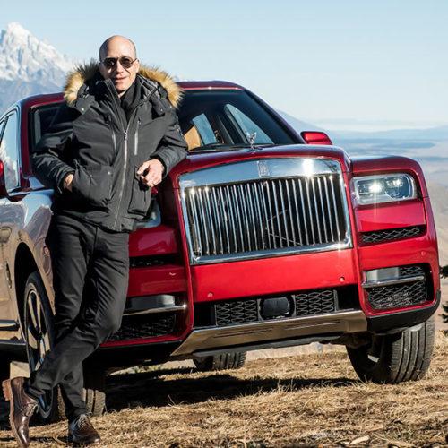 Manejando El Rolls Royce Cullinan, el SUV mas lujoso del mundo