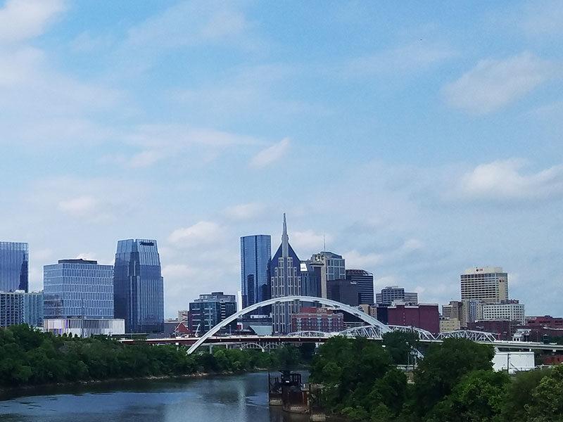 Nashville-skyline-Tennessee