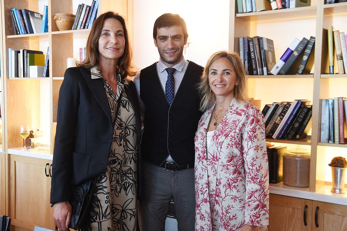 Sevan-Bicakci-lunch-Myriam-Habour,-Herman-Bicakci,-Monica-Kalpakian